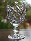 Waterford Crystal  Signed Donegal  Claret Wine Glass