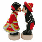 Cute Collectible Magnetic Salt and Pepper Sets Mexican Couple