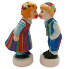 Cute Collectible Magnetic Kiss Salt and Pepper Shakers Finnish Couple