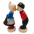 New Collectible Magnetic Kiss Salt and Pepper Shakers Dutch Couple