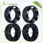 4X 2 Black Wheel Spacers Adapter 6x55 For Chevy Silverado 1500 Tahoe Suburban