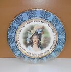 Vintage Homer Laughlin Victorian Lady Collectible Plate Jon Peters Amsterdam