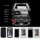 Shockproof Aluminum Glass Metal Heavy Duty Case Cover for iPhone 7 5S 6S 7 Plus