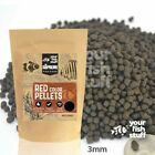 YFS Red Supreme Sinking Pellets 3.0mm Bulk Aquarium Fish Food 1/4LB to 5LBS