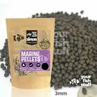 YFS Marine Supreme Sinking Pellets 3.0mm Bulk Aquarium Fish Food 1/4LB to 5LBS
