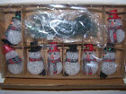 Sammy Holiday SNOWMAN Light String Gift Collection NEW