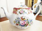 Royal Albert China LADY CARLYLE Teapot / Tea Pot  - NEW!