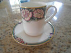 Royal Doulton Orchard Hill china cup and saucer gilt trim made in England