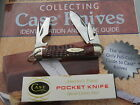 Antique CASE XX 1940 to 1964 6445 R Scout Utility Knife Red Bone MINT Super Nice