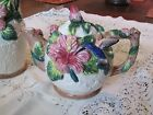 Hummingbird Pitcher and Teapot