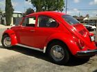Volkswagen  Beetle Classic New Chrome RARE RECENTLY RESTORED 72 VW RED RELIC RUNS LIKE A RACE CAR