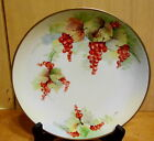 EG Victorian China Porcelain Grapes Fruit 8 7/8d