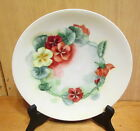 Saxony Victorian China Floral Decorated Porcelain 8 1/4d