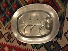 WILTON ARMETALE CARVING TRAY RWP PEWTER PLATTER LARGE TREE WELL COLUMBIA PA