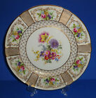 ROYAL DOULTON PLATE HAND PAINTED GOLD TIFFANY ANTIQUE PORCELAIN ENGLAND 1925 #4