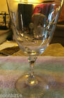 Lenox Cut glass Brookdale goblet Crystal  Made in USA