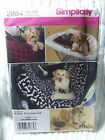 Simplicity 2984 Sewing Pattern DOG PET Carrier Blanket Car Seat Shopping Cart