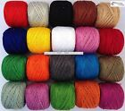 20 ANCHOR Pearl Cotton Balls Size 8 85 Meters each Great Value Pack New