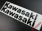 145mm Black Gas Tank & Fairing Emblem Decal Sticker For Kawasaki Motorcycles