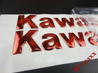 Red GasTank Fairing Fender Emblem Badge Decal 145mm For Kawasaki Motorcycles