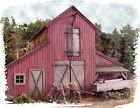 Bar Mills Barn at Jackson Corners Laser-Cut Wood Structure Kit #502 HO Scale