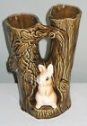 Excellent Condition Vintage Sylvac double stem 7 Vase Made in England