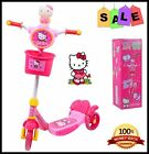 KID CHILD TODDLER GIRL PINK PUSH KICK SCOOTER 3 WHEEL RIDE ON TOY OUTDOOR GAME