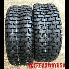 Two New 16x6.50-8 Deestone D265 Turf Riding Lawn Mower Garden Tractor Tires