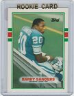 1989 Topps Traded set Aikman, Deion and Barry Sanders ROOKIES