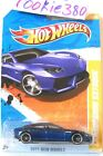 2011 Hot Wheels NEW MODELS 48  LAMBORGHINI ESTOQUE  LOT OF 13 BLUE