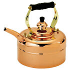 Copper Teakettle Whistling 3-quart Tri-ply Kitchen Tea Drink Hot Stainless Steel