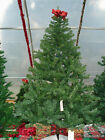 Artificial pre-lit Christmas Tree NIB 7' NOBLE FIR MULTICOLORED LIGHTS