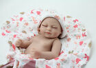Soft silicone reborn baby doll kit not solid posable structure girl