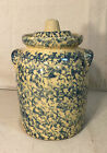 ROBINSON RANSBOTTOM BLUE SPONGEWEAR CANISTER / COOKIE JAR WITH LID