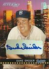 2004 Studio Private Signings Platinum #100 Duke Snider Auto 3 10 Dodgers