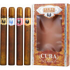 CUBA CLASSIC * 4 Piece Variety Set * 4 X 1.17 Oz EDT Cologne MEN * NEW IN BOX *
