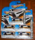 2012 Hot Wheels CODE CARS 226  CUSTOM 11 CAMARO  LOT OF 5 WHITE