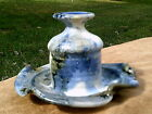 Hand Thrown -  Art Pottery - Signed - Bud vase / Candle Holder - Free Shipping