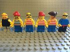 Lego Pirate Minifig Lot Of 6 Hats Eyepatches Ship Vintage Classic