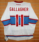 Brendan Gallagher Montreal Canadiens Signed Autographed Winter Classic Jersey