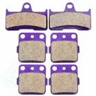Front+Rear Brake Pads For Yamaha YFM 660 Grizzly Hunter 2002-2008 2007 2006 2005