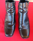 WOMENS BLACK ANKLE CABRIZI BOOTS SIZE 11 M