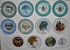 Avon Plates Collectible Lot of 12, including the 5th Anniversary 'The Great Oak'