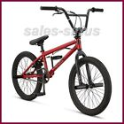 Red Bmx Bike Boys Cycling Freestyle Stunts Bicycle 20 Inch Racing Tricks Gift
