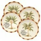 Fitz and Floyd Cape Town Assorted Salad Dessert Plate Set