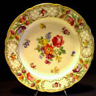 Schumann Bavaria EMPRESS DRESDEN FLOWERS Salad Plate(s) EXCELLENT Condition