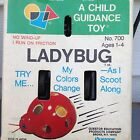 Vintage A Child Guidance Toy Lady Bug NEW In Box