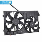 Dual Radiator Cooling Fan Assembly for VW Beetle Golf Jetta Rabbit