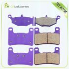 F+R Carbon fiber Brake Pads 2006-2010 For SUZUKI GSXR 600 750 GSX-R