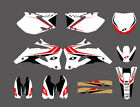 Graphics & Backgrounds Decals For Yamaha YZ250F YZ450F YZF 2006 2007 2008 2009